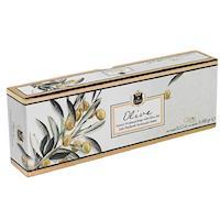 【Olivos奧莉芙的橄欖】橄欖葉-嫩膚天然手工皂-橄欖油手工皂禮盒/100G*3入