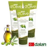 【土耳其dalan】 橄欖身體護手滋養修護霜250mlx3