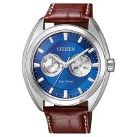 CITIZEN 星辰 Eco-Drive光動能日曆手錶 藍 43mm BU4011-11L