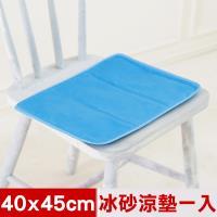 【米夢家居】嚴選長效型降6度冰砂冰涼坐墊40/x45cm-1入