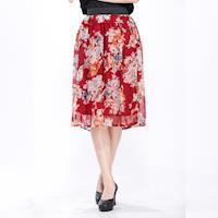 CLARE 時尚優雅珍珠雪紡裙(4入組)