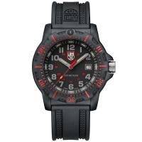 LUMINOX 雷明時Black Ops 8880黑夜行動系列腕錶-黑x紅時標/45mm A8895