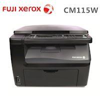 FujiXerox DocuPrint CM115w 黑白無線雷射複合機