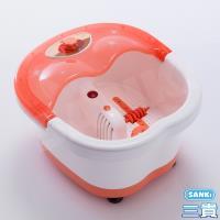 日本Sanki  SPA加熱足浴機+冰涼兩用墊抱枕