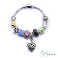 DINA JEWELRY蒂娜珠寶  甜蜜搖滾  潘朵拉風格 設計手鍊