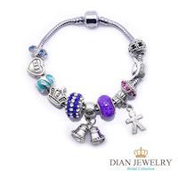 DINA JEWELRY蒂娜珠寶   歡樂派對 潘朵拉風格 設計手鍊