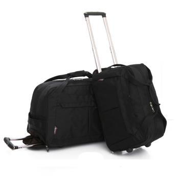 【悅生活】GoTrip 微旅行--24吋 韓版秋冬款多隔層拉桿旅行袋(拉桿袋 行李箱 拉桿包 購物車)