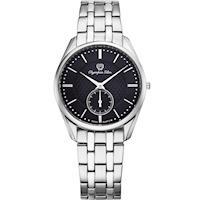 Olympia Star 奧林比亞之星-經典都會系列小秒針時尚計時腕錶(內斂黑)58072MS