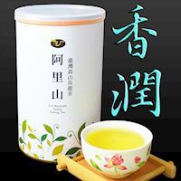 龍源茶品 阿里山花香韻美烏龍茶葉2罐組(150g/罐)