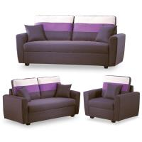 【時尚屋】艾爾瑪沙發組深咖色儲物布MT7-326-6免組裝/免運費/沙發