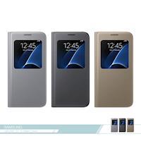 Samsung三星 原廠Galaxy S7 G930專用 視窗透視感應皮套 S View /智慧側掀保護套