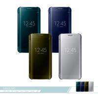 Samsung三星 原廠Galaxy S6 edge G925專用 全透視鏡面感應皮套 Clear View 智慧側掀