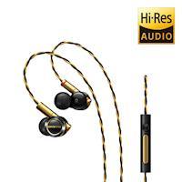 ONKYO E900M Hi-Res 混合結構入耳式耳機-黑色