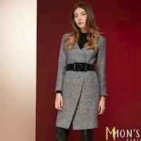 MONS專櫃質感精品羊毛大衣