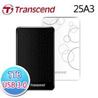 Transcend創見 StoreJet 25A3 1TB  外接硬碟