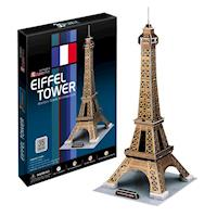 《Cubic Fun》3D立體建築拼圖-艾菲爾鐵塔