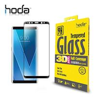 HODA Samsung Galaxy Note 8 3D 全曲面高透光滿版玻璃貼 0.33mm 黑色