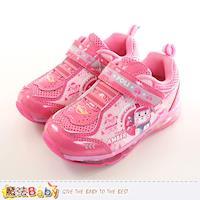 魔法Baby 女童鞋 POLI安寶正版授權閃燈運動鞋~sa71243