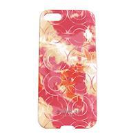 COACH 花卉塗鴉 iPhone 5 手機保護殼(粉紅)