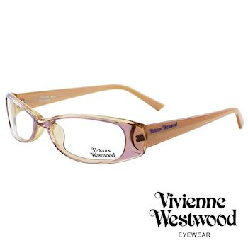 Vivienne Westwood 光學平光鏡框★經典LOGO造型★英倫龐克風(粉) VW192E02