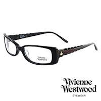 Vivienne Westwood 光學鏡框★英倫龐克風★(黑) VW175E04