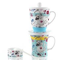 風行日本-陶瓷滴漏杯組(咖啡、花茶)三種花紋可選