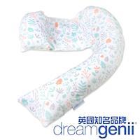 英國Dreamgenii 多功能孕婦枕/哺乳枕/側睡枕-繽紛花園