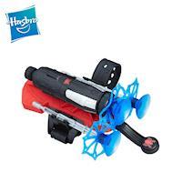 孩之寶hasbro-漫威蜘蛛人手腕玩具組-吸盤飛鏢