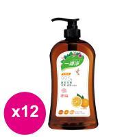楓康一滴淨蘆薈多酚洗潔精-柑橘植萃 1000g X12瓶