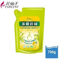花仙子茶樹莊園-茶樹檸檬超濃縮700g洗碗精補充包3入