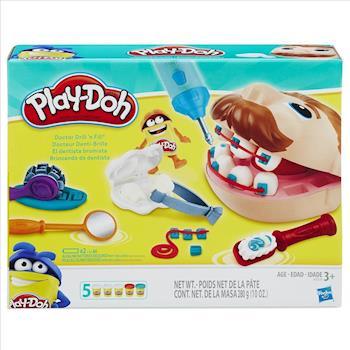 任-【 Play-Doh 培樂多黏土 】天才小牙醫遊戲組