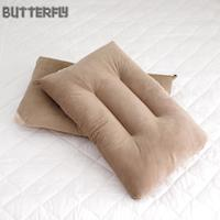 ~BUTTERFLY~可水洗彈性枕~棕 快乾滴水網布   二入組