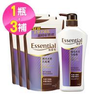 逸萱秀 瞬效美型抗亂翹洗髮乳700ml+補充包550ml(3入)