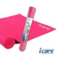 I.CARE瑜珈墊0.4cm-粉JIC030-1