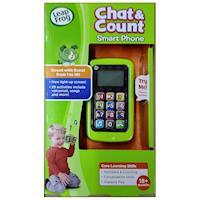 美國[LeapFrog跳跳蛙] 聰明數數小手機(綠)★ 原廠優質玩具