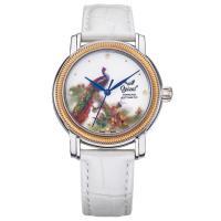 Ogival瑞士愛其華-搪瓷彩繪自動機械錶(孔雀)358-24.11AMSR