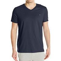 Tommy Hilfiger 2017男時尚深藍色V領短袖T恤(預購)