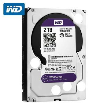 WD 威騰 WD20PURZ 紫標 2TB 3.5吋監控系統硬碟