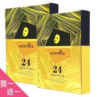 XANTIA 桑緹亞 黃金超導抗皺面膜(25mlx5入)(買一送一)