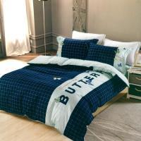 eyah宜雅 刺繡+貼布繡精緻精梳棉單人床包兩用被三件組-蠂夢