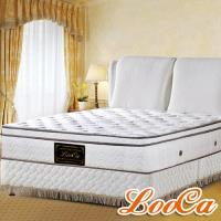 LooCa 厚5cm乳膠天絲三線獨立筒床墊-加大-4月感恩月