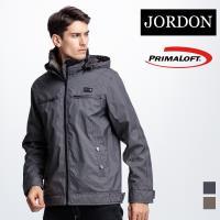 【JORDON】PRIMALOFT 男款都會風大衣 #801