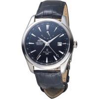 ORIENT 東方錶 GMT系列 雙時區機械錶 SDJ05002B
