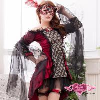 【天使霓裳】吸血鬼女爵 角色扮演服 惡魔誘惑(黑) KK7021