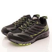 GOODYEAR-黑曜之星氣墊跑鞋-MR73375黑綠-男款