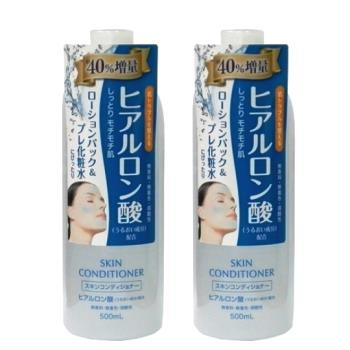 日本Naris up 玻尿酸保濕敷顏化妝水500ml(2入組)
