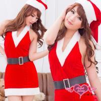 天使霓裳 聖誕饗宴 狂熱聖誕舞會 耶誕服 角色服(紅F) MA2002