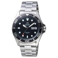 ORIENT東方 Sport 運動潛水200米機械錶 黑x銀 41mm FAA02004B