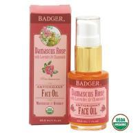 【BADGER】美國USDA認證 大馬士革玫瑰美顏油 29.5ml