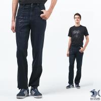 【NST Jeans】銀色刺青印花 原色重磅數牛仔長褲(中腰) 393(66489)